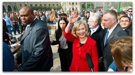Hillary's handler doctor stroke