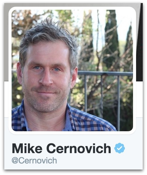 Mike Cernovich verified on Twitter.37 AM