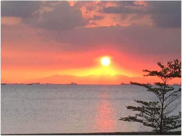 Sunset in Jordan Dead Sea