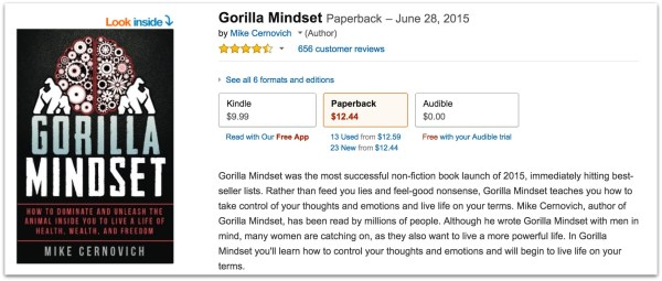mike-cernovich-gorilla-mindset-reviews-on-amazon-five-stars-12-pm