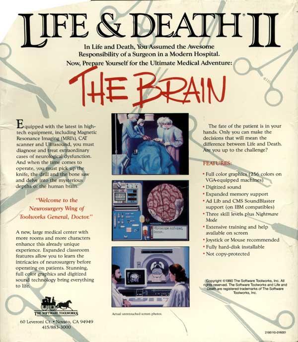 Life & Death II (Back)