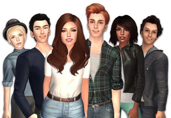 Second Life Avatars