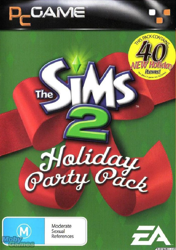 Sims 2 Holiday Party Pack