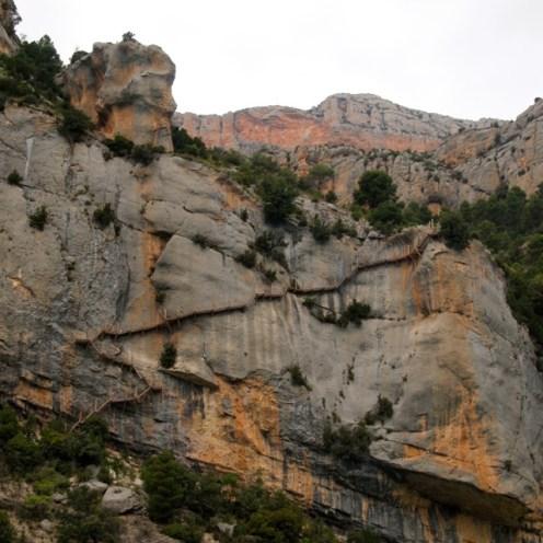 Mont-Rebei Gorge trail