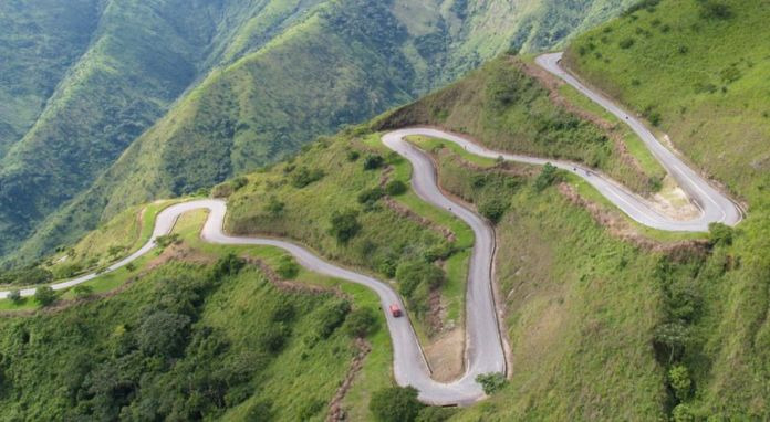 A winding road to Obudu Mountain