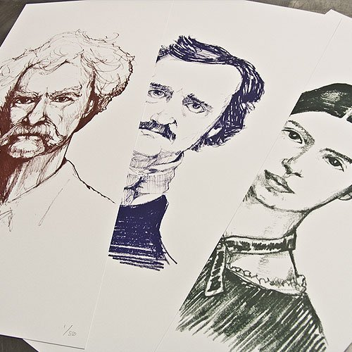 American Authors prints set