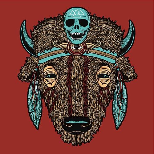 Buffalo head