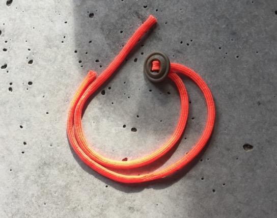 Paracord Bracelet Instructions - Step 1