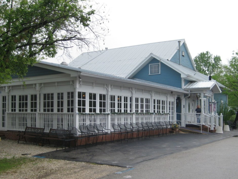 The Blue Owl Restaurant in Kimmswick, MO