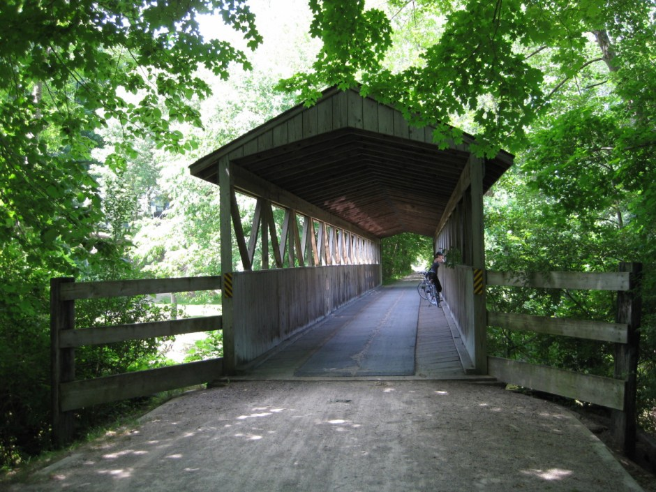 Kal-Haven Trail in South Haven, Michigan