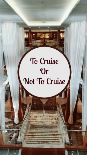 Pros and Cons of Cruising