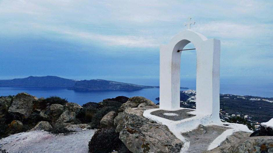 Archway near Oia, Santorini