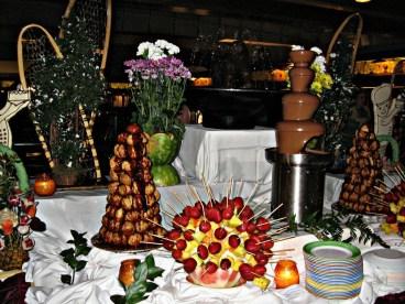 Dessert Buffet on the Cruise