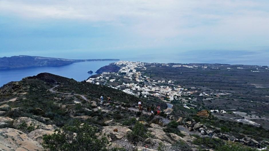 Town of Oia - Santorini Hike
