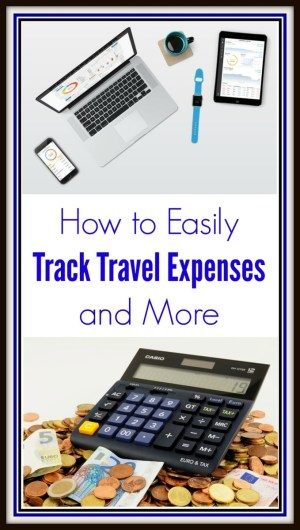 Track Travel Expenses