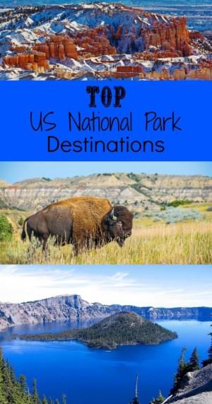 National Park Service Destinations