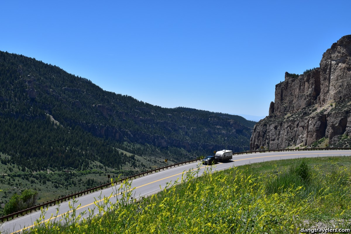 Bighorn National Forest En Route to Yellowstone
