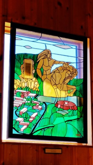 Crazy Horse Stained Glass