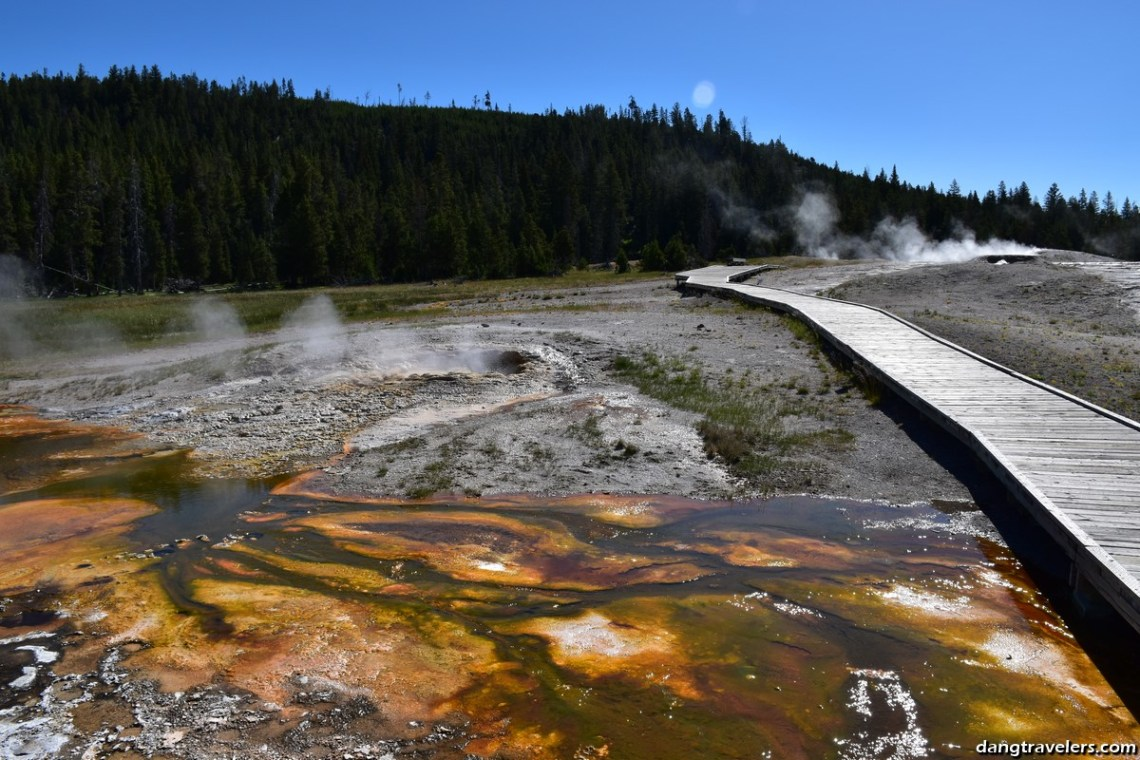 Old Faithful Area Yellowstone