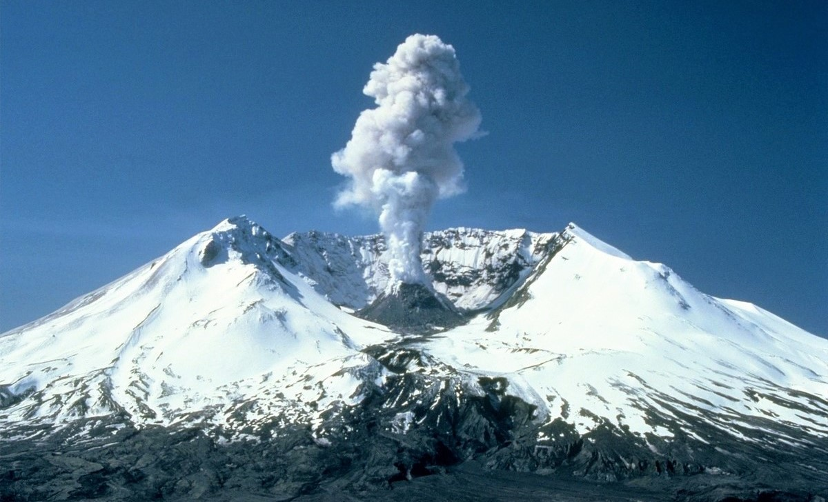 Nature's Resilience at Mount St. Helens National Volcanic Monument