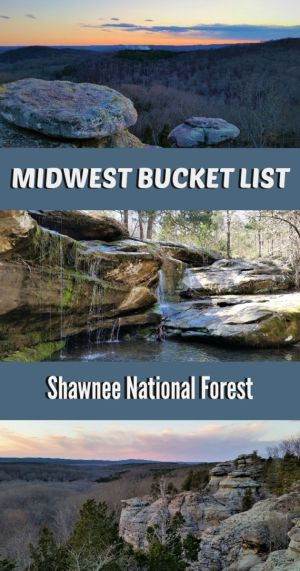 Southern Illinois is home to incredible landscapes of dramatic rock formations and stunning vistas. Here are the top Shawnee National Forest attractions.