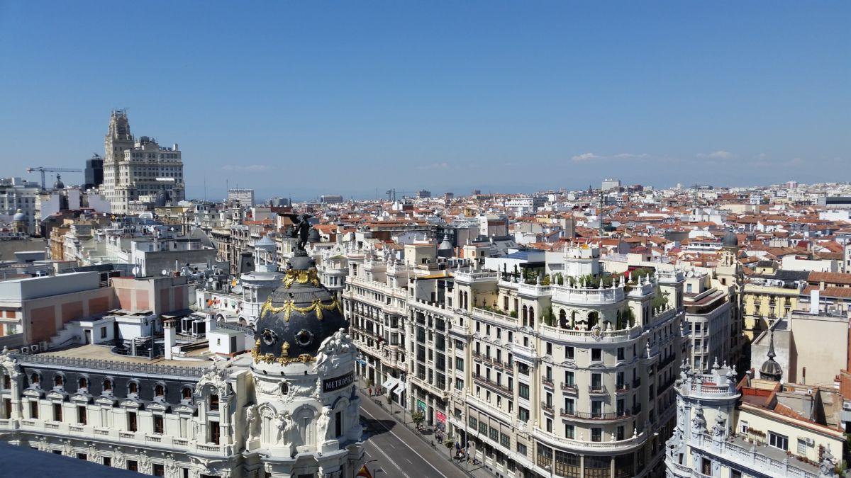 Circulo de Bellas Artes Rooftop: Magnificient View of Madrid