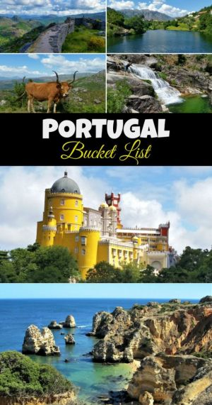Visiting Portugal? Read here for the ultimate bucket list of must-see places!
