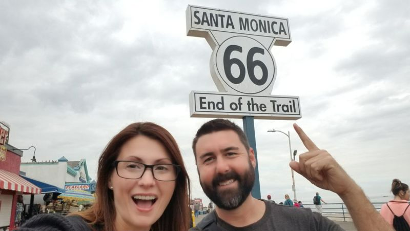 California Route 66 is the end of the 2,400 mile Mother Road. Join us as we travel from the Mojave desert to the raging waves near the Santa Monica Pier.