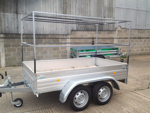 BESPOKE FRAMES and COVERS for trailers by DanHIRE
