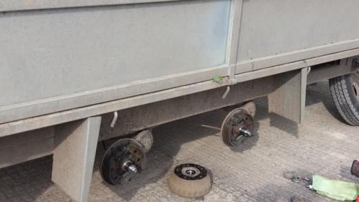 TWIN AXLE trailer Brake Overall