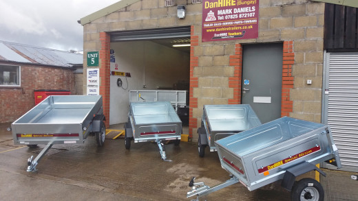 DanHIRE Branded Trailers