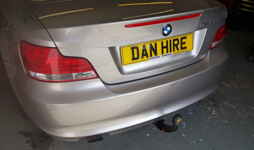 BMW One Series tower with 7pin Electrics