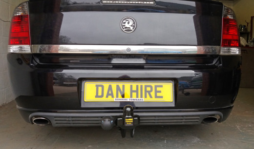 New Towbar fitted to Vauxhall Vectra