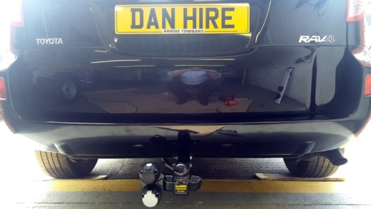 Toyota-RAV-4-fitted-with-Fixed-Flange-Towbar-by-Mark-at-DanHIRE-TOWBARS