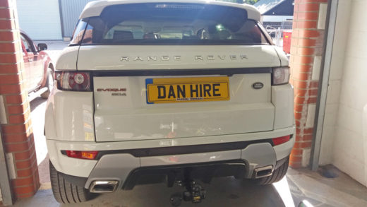Fixed Flange Towbar