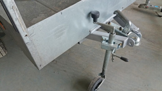 retractable drawbar