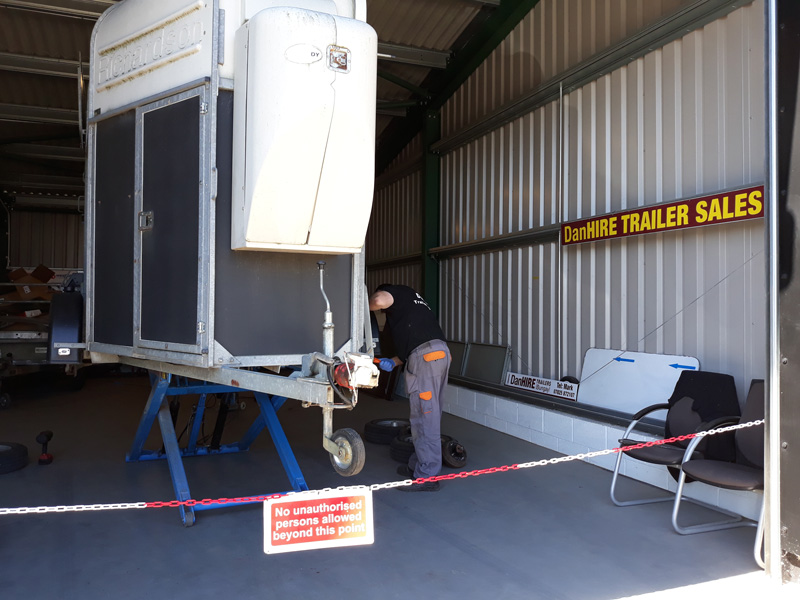 DanHIRE Trailer inspection
