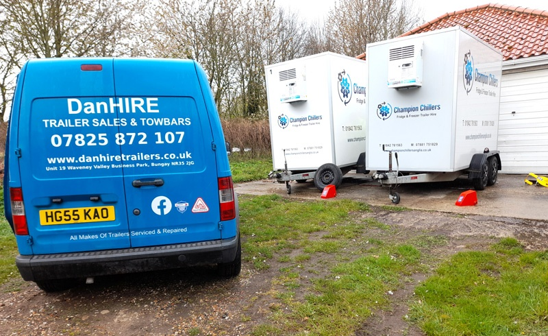 Chillers Hire Trailers