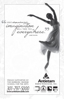2013. Antietam Cable asked the team at Icon Graphics to create a simple ad for a Barbara Ingram School for the Arts program.