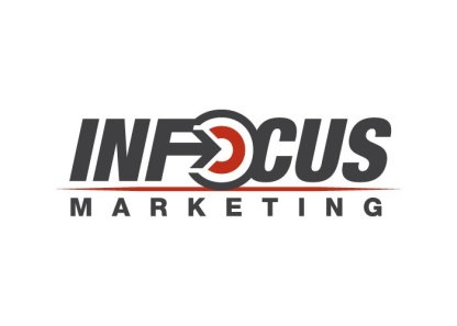 2010. INFOCUS Marketing expanded its services and acquired another company, so a rebranding was in order. An arrow hitting a target had been part of the branding before, along with the basic color scheme, so I tried to keep the same elements while giving them a bit of a fresher look.