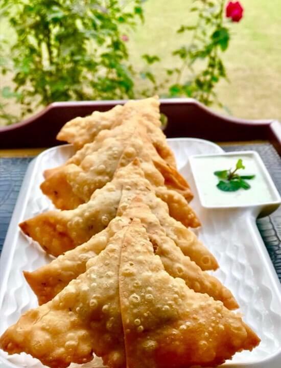 Chicken Samosa Recipe with Potatoes