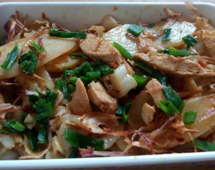 Chicken Cabbage Recipe Stir-Fry
