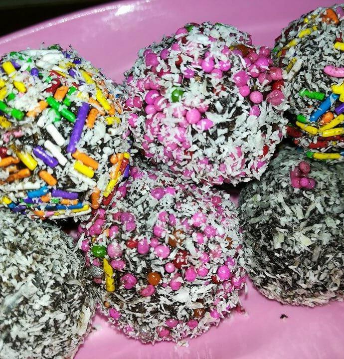 Chocolate Coconut Balls Recipe