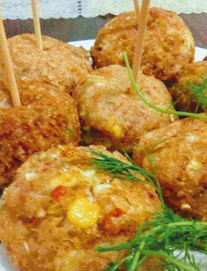 Vegetable Balls recipe