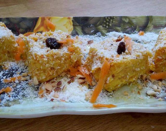 Yummy Carrot Dessert Recipe (Gajrela)