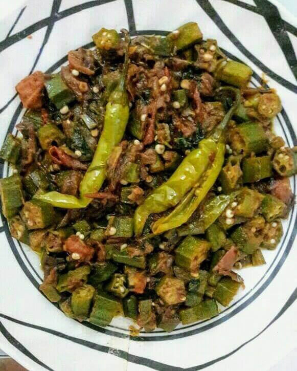 Easy and Healthy Okra Recipe(Bhindi Masala)