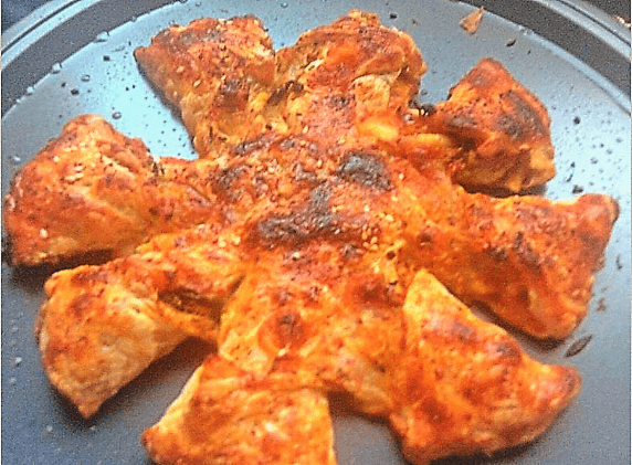 Puff pastry pizza twists recipe