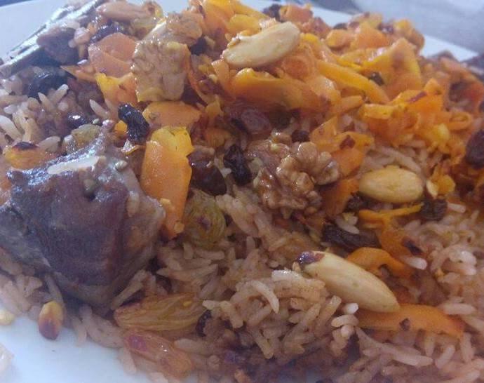 Kabuli pulao recipe