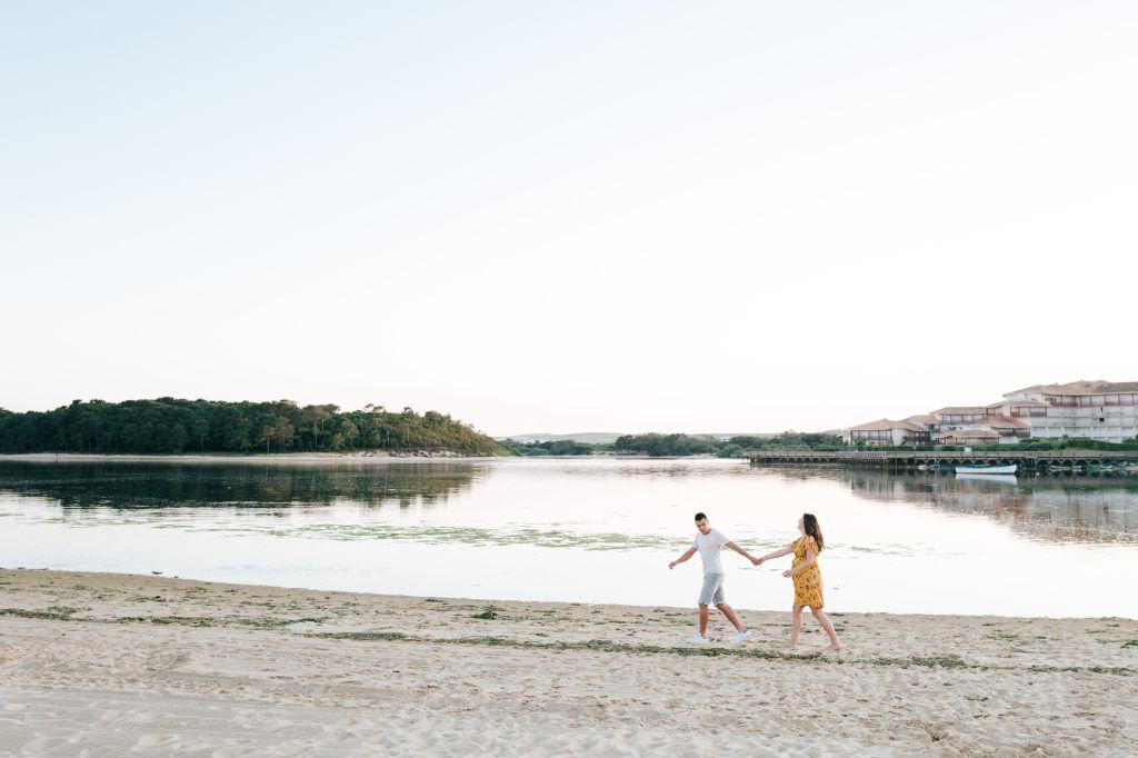 Photographe famille Landes Dax- photo grossesse plage vieux boucau 6