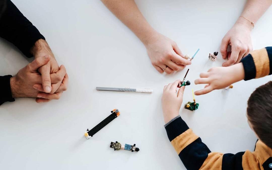 Legos et petits moments du quotidien
